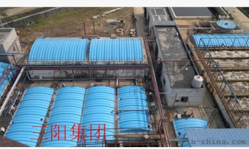 弧形污水池盖板 玻璃钢污水池盖板