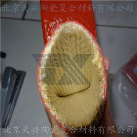 天興 塗硅膠陶纖套管 塗硅膠玻纖套管 高溫密封套管