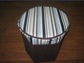 圆形折叠收纳凳(D-001)