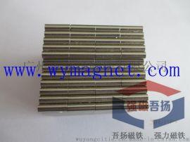 现货供应 D6*25mm钕铁硼强力磁棒,磁力架除铁器专用磁柱