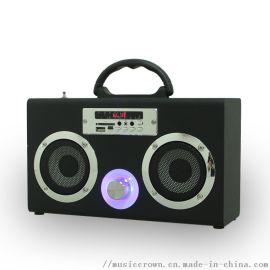 Mini无线蓝牙音箱便携式多功能手提收音机音箱