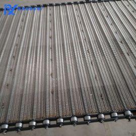 链条传送网带金属耐高温不锈钢丝网输送带(可定制)