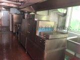 通道式洗碗机|食堂学校专用清洗设备|长龙式洗碗机操作简单