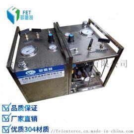 气动试压泵 气液增压阀 可增压至80bar