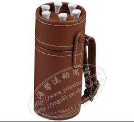 供应高尔夫礼品套装/高尔夫笔筒/真皮笔筒/创意新奇特礼品/礼品加、、