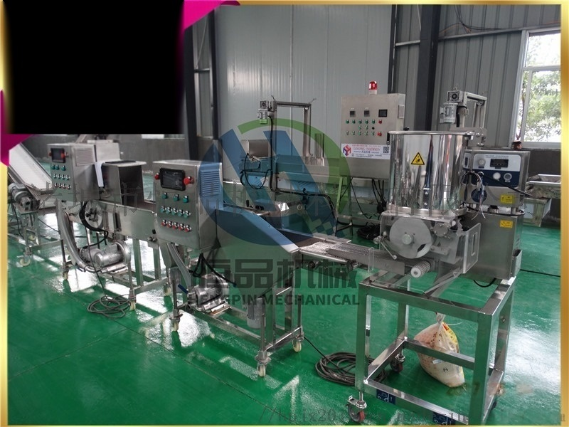 恒品机械hp-400型汉堡肉饼全自动成型机