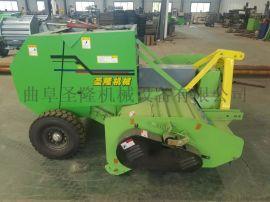 玉米杆小麦秸秆打捆机,牵引式玉米杆小麦秸秆打捆机