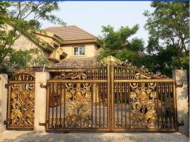 铝合金别墅庭院大门廊坊别墅庭院铸铝大门庭院大门