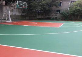 河池巴马县篮球场施工 环保硅PU地面耐磨
