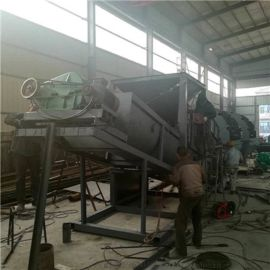 螺旋筛分水洗一体机 车载可移动大型石粉洗砂机