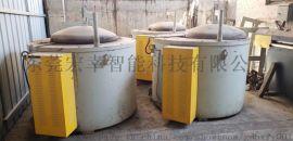 600KG铝合金电炉 圆形发热丝电阻炉