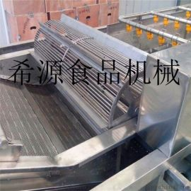 DER-4000型中草药材清洗机 根茎药材清洗机
