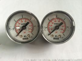 WIKA威卡不锈钢压力表潜水瓶医用氧气瓶小压力表