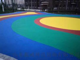 山东幼儿园塑胶地面彩色卡通EPDM无缝塑胶