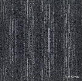 广东地毯厂家现货供应写字楼办公室工程方块地毯批发