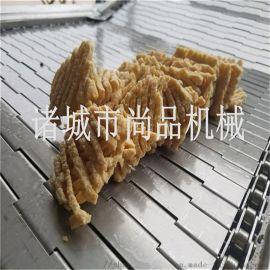 豆腐串油炸机 全自动连续豆腐串油炸流水线