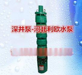 不锈钢深井泵QJ型立式潜水深井泵多级潜水泵 耐磨防腐井用抽水泵 高扬程深井泵 农用灌溉泵