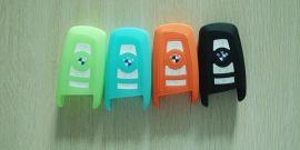 宝马汽车5系3系**硅胶钥匙套滴胶锁匙包软胶遥控器保护包套
