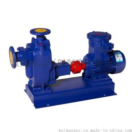 ZW型系列防爆不锈钢耐腐蚀无堵塞自吸式排污泵