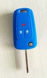 折叠3键别克英朗硅胶钥匙套软胶锁匙包汽车遥控器防盗器保护包套