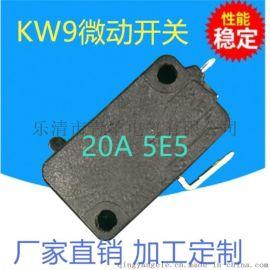 KW9大电流微动开关 水泵控制