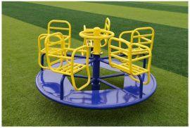 优质小区健身器材儿童转转椅 儿童娱乐健身器材转椅