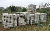 浙江新農村建設戶外園林水泥仿樹樁石木排樁廠家