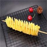 螺旋式薯塔油炸機 土豆棒油炸設備  薯塔油炸線