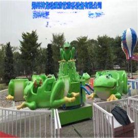 弹跳青蛙游乐设备 新型自控弹跳青蛙游乐设备