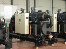 套管式换热器地源热泵别墅地源热泵中央空调
