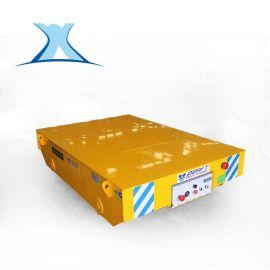 大吨位载重遥蓄电池转弯电动平板车收放电缆轨道牵引动力机车