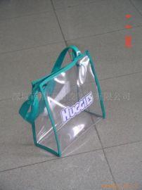 加工定制PVC化妝袋,PVC手挽袋,pvc手提袋