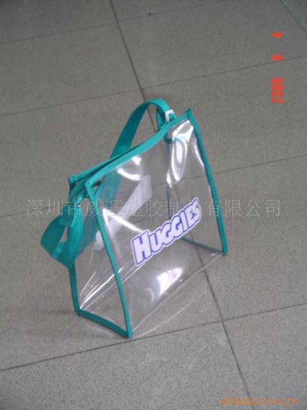 加工定製PVC化妝袋,PVC手挽袋,pvc手提袋