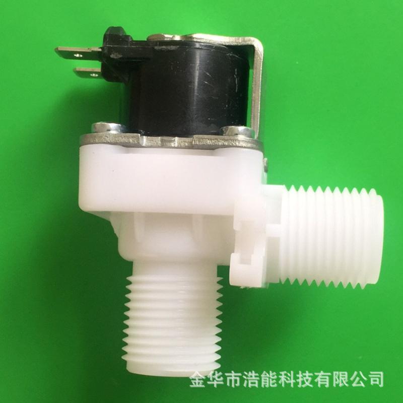 微型电磁阀|四分外螺纹电磁阀|食品级进水阀|垂直塑料电磁阀