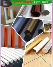 室內外鋁圓通裝飾鋁圓管吊頂木紋鋁圓管廠家直銷
