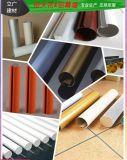 室内外铝圆通装饰铝圆管吊顶木纹铝圆管厂家直销