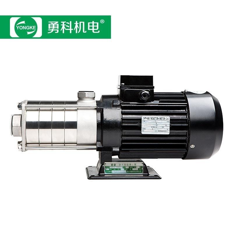 輕型不鏽鋼臥式多級泵 家用衛生級離心泵