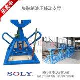 港口重型集裝箱液壓移動支架替代日本同類產品-泰州索力