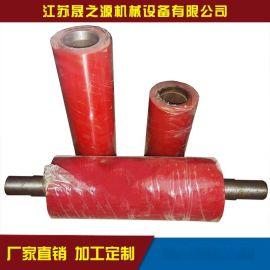 聚氨酯从动滚筒 贴膜机配件聚氨酯耐磨从动滚筒