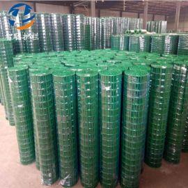 绿色铁丝网围栏 养殖养鸡网 室外防护网隔离护栏 菜园铁丝护栏网