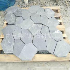 青绿色文化石 天然外墙石材 草绿色文化石 厂家直销 大量批发