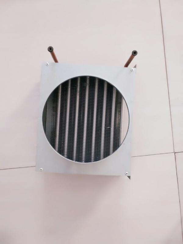 冰激凌展示櫃銅管鋁翅片蒸發器冷凝器河南科瑞