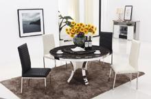 T1814不锈钢餐桌,酒店家具,环保简约金属家具