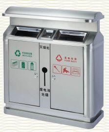 不锈钢户外环保垃圾桶
