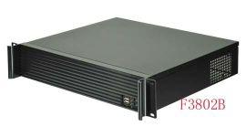 2U上架式标准铝型材面板工控服务器机箱L3802B