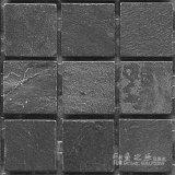 魚之樂-黑板岩-49啞面-石材馬賽克
