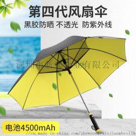 厂家订做 风扇伞 **防紫外线太阳伞 **出口伞