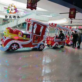 商场小火车游乐设备儿童娱乐设备
