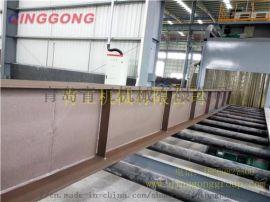 钢结构抛丸机,钢结构除锈机,钢结构打砂机
