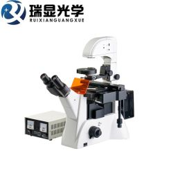 无限远物镜落射倒置荧光显微镜